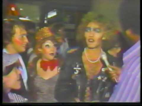 Rocky Horror at the Varsity Theater Late 70s  Michael Stipe & Vladimir Noskov