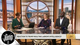 The Jump reacts to Donald Trump's LeBron James tweet | The Jump | ESPN