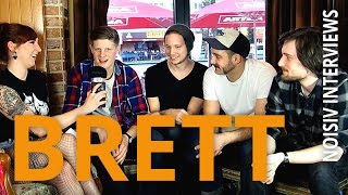BRETT über EP #2, Chimperator und Brech-Durchfall auf der Bühne! // NOISIV INTERVIEWS