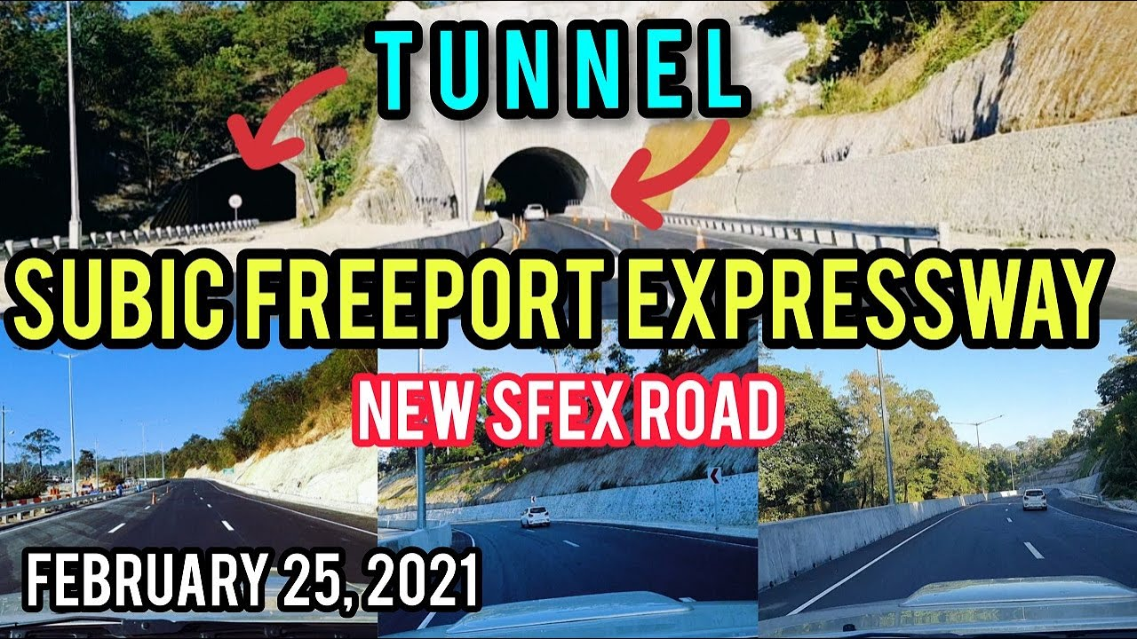 WOW! NEW SUBIC FREEPORT EXPRESSWAY PROJECT UPDATE! 8.8 KMS 4 LANES NEW SFEX ROAD. SIGHTSEEING TOUR.