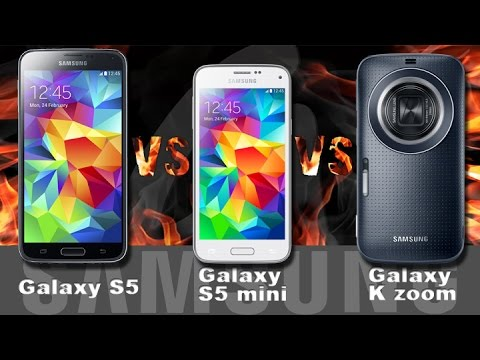 samsung galaxy s5 vs galaxy s5 mini vs galaxy k zoom. Black Bedroom Furniture Sets. Home Design Ideas