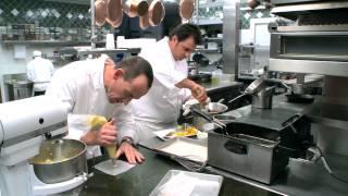 Cuisine Culture™ How to prepare  Warm Crispy Beignets by Chef Josiah Citrin & Ashley James