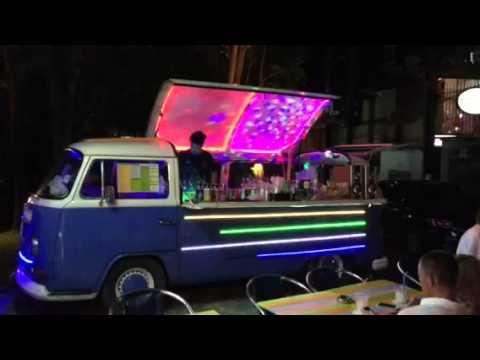 Volkswagen Bus bar conversion Phuket Thailand