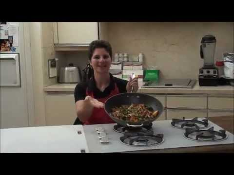 Diabetic Chinese Food Dinner Recipe: Chicken with Cashews