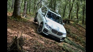 Can the new BMW X5 handle an off-road course?