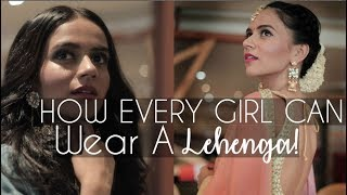 How EVERY Girl Can Wear A LEHENGA! | Komal Pandey