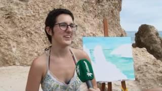 Una treintena de artistas participan en el XIII Certamen de Pintura Rápida 'Ciudad de Melilla'