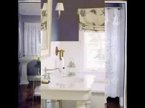 Bathroom Window Curtain Design Decorating Ideas - YouTube