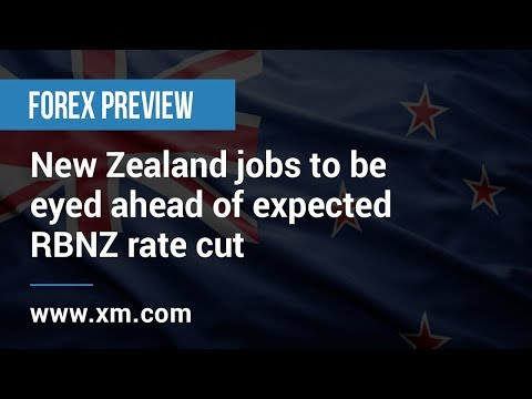 Forex Preview: 02/08/2019 - New Zealand jobs to be eyed ahead of expected RBNZ rate cut