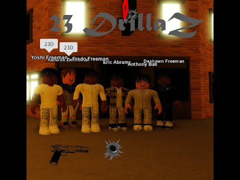 "22Gz ""Shoot Em Up"" (ROBLOX MUSIC VIDEO) 23 DrillaZ"