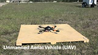 UAV Test Flight