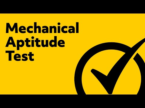 Best Mechanical Aptitude Test - Free Mechanical Comprehensio