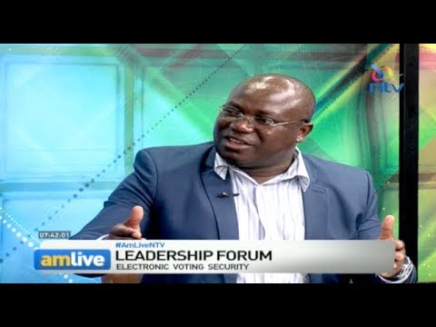 Chris Msando's last public moment on #AMLiveNTV