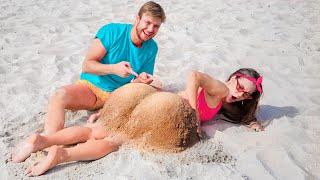 ประเภทของคู่รักในวันหยุดพักร้อน / 16 ช่วงเวลาที่น่าอึดอัดและตลก