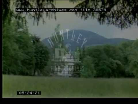 The Von Trappe House in Austria.  The real The Sound of Music house.  Film 38579