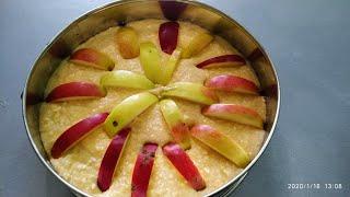 Творожная Шарлотка с Яблоками Рецепт Простого Пирога в Духовке.
