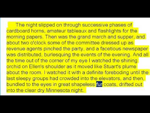 A Short Trip Home by Francis Scott Fitzgerald (Book Reading, British English Female Voice)