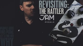 Demos in the Dark // Why Does Everyone Love The Jam Pedals Rattler? // Pedal Demo