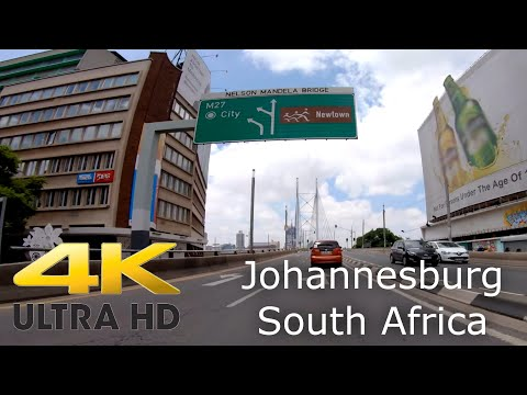 Johannesburg City in 4k