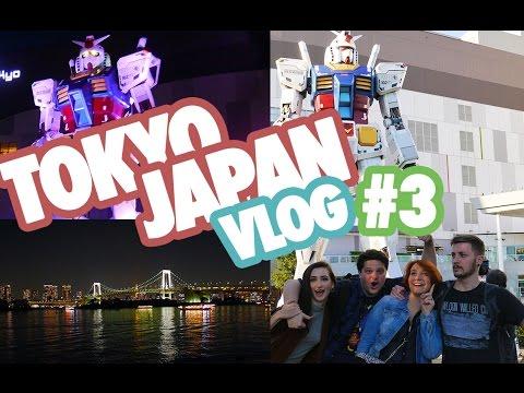 JAPAN VLOG 🇯🇵 #3 / Odaiba, Disney Store, Joypolis, Gundam, Krispy Kreme...