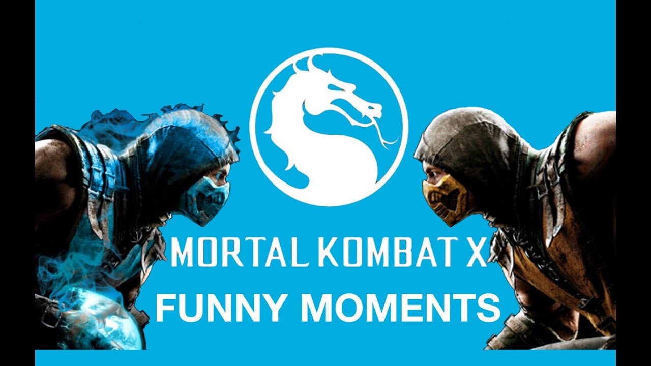 MORTAL KOMBAT X Funny Moments-(Funny Fatality, Gameplay
