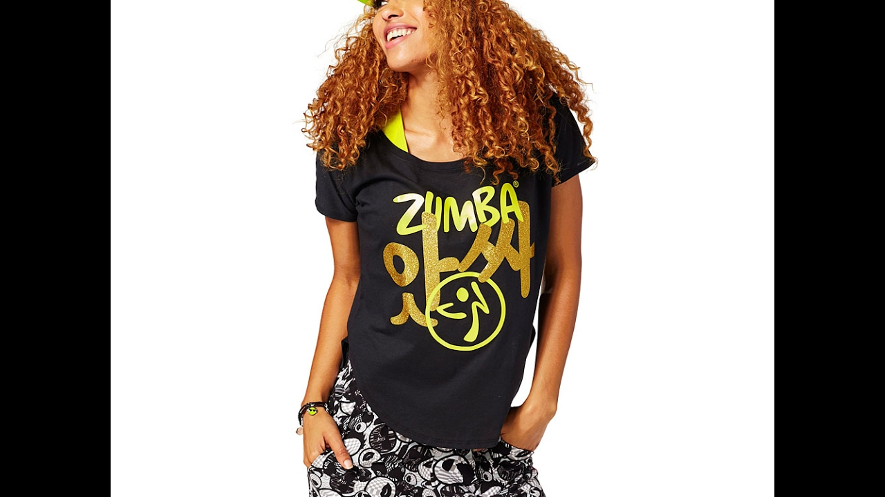 how to cut zumba wear t shirt into. Black Bedroom Furniture Sets. Home Design Ideas