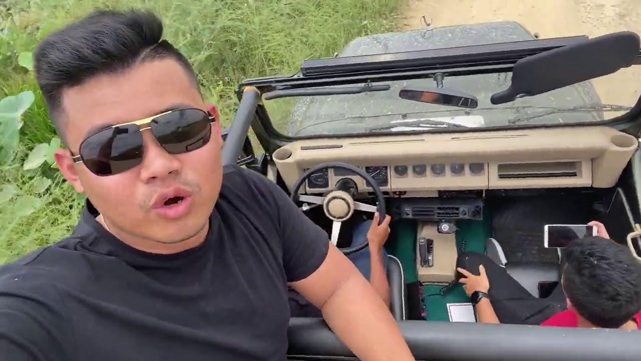 តោះជិះ Jeep ដេញគោ បេះឈូក បែបស្រុកស្រែយើង