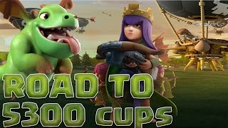 RUSH EN LIVE | GO TO 5300 TROPHEES !| HDV 10 | Clash of Clans FR