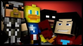 "Minecraft: ""SUPER HEROES!"" #3 (Modded Hunger Games)"