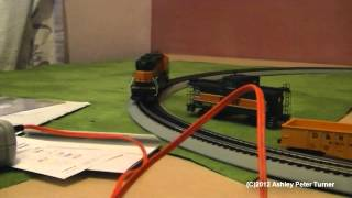 """Athearn BNSF """"Iron Horse"""" HO Scale Train Set Review (Setup and Test Drive) HD"""