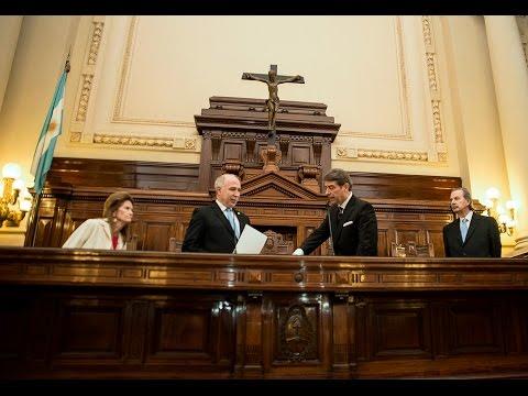 La Corte tomó juramento a Horacio Rosatti como ministro del tribunal