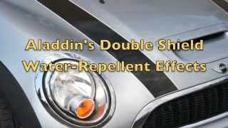 Water-Repellent Effects- Quick & Easy Glass Coating, Non-Wax Car Polish & Protection.