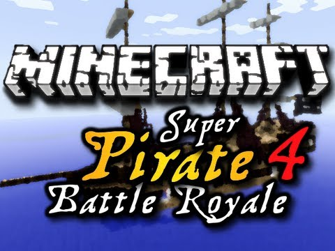 Minecraft: Super Pirate Battle Royale - Chim, Mr360Games, iJevin, & CavemanFilms (HD)