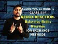 Redox Reactions - Ion exchange method (Part 9)