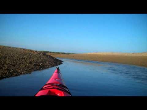 Kayaking in Pamet, Truro, Cape Cod, Massachusetts