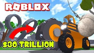 WE CRUSHED THE MOST EXPENSIVE CAR IN ROBLOX CAR CRUSHERS! | MicroGuardian