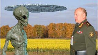 Шок! В России на полигоне 'Владимировка' произошел контакт с пришельцами. Заявление генерала об НЛО
