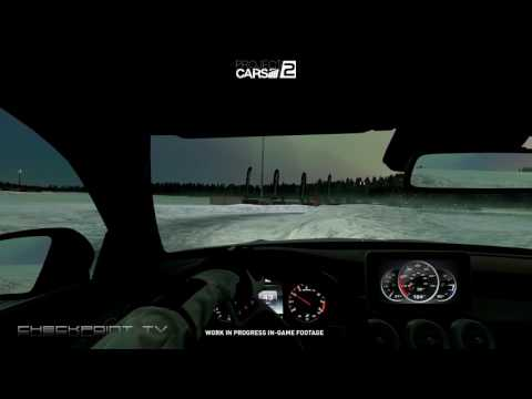 Project Cars 2 PREVIEW Gameplay #03 Sweden Ice Track Cockpit Cam Day