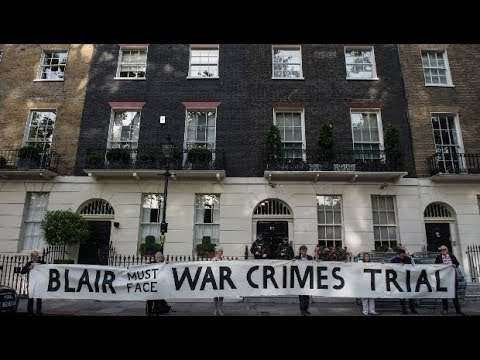 UK Court Protects Tony Blair from War Crimes Prosecution