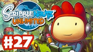 Scribblenauts Unlimited - Gameplay Walkthrough Part 27 - Underscore Mine (PC, Wii U, 3DS)