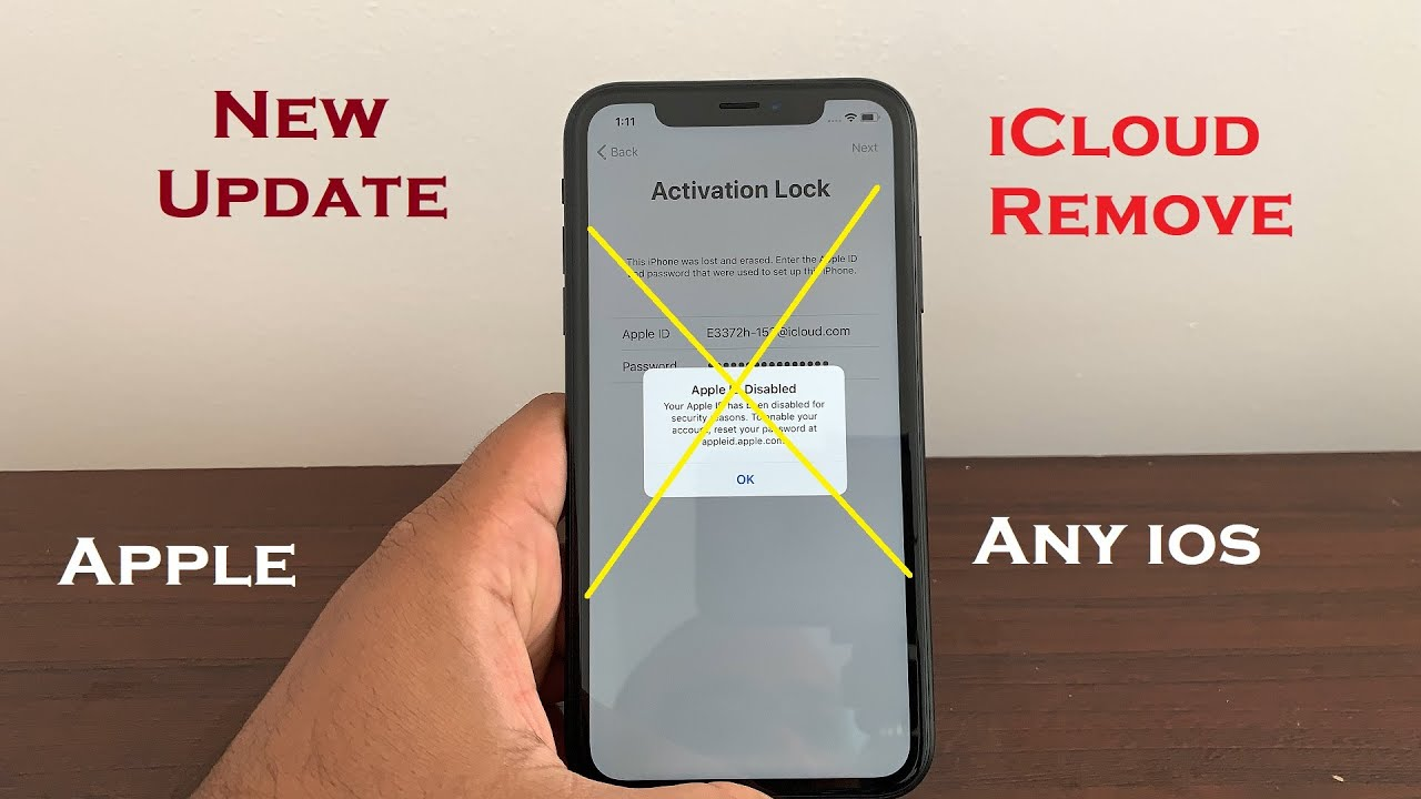 impossible iCloud Unlock IPhone/IPad Activation lock Disable Apple ID Any  IOS Update September 2019