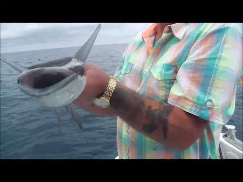 Fishing In Cuba Deep Sea Jigging Pt 1  Cayo Guillermo Cayo Coco
