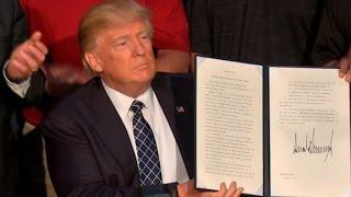 Trump order dismantles Obama climate policies