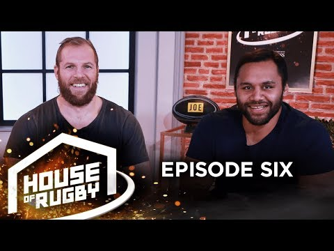 James Haskell & Billy Vunipola: Diets, drinking, England, Ireland v All Blacks | House of Rugby #6
