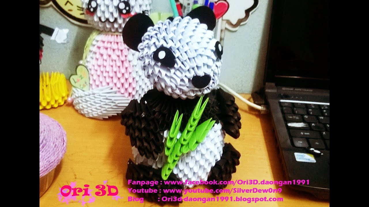 Tutorial Panda 3D Origami