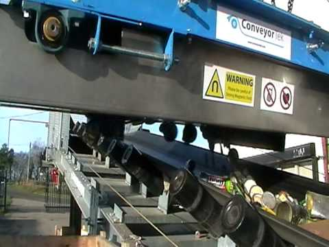 Overband Conveyor Magnet for the Recycling Industry