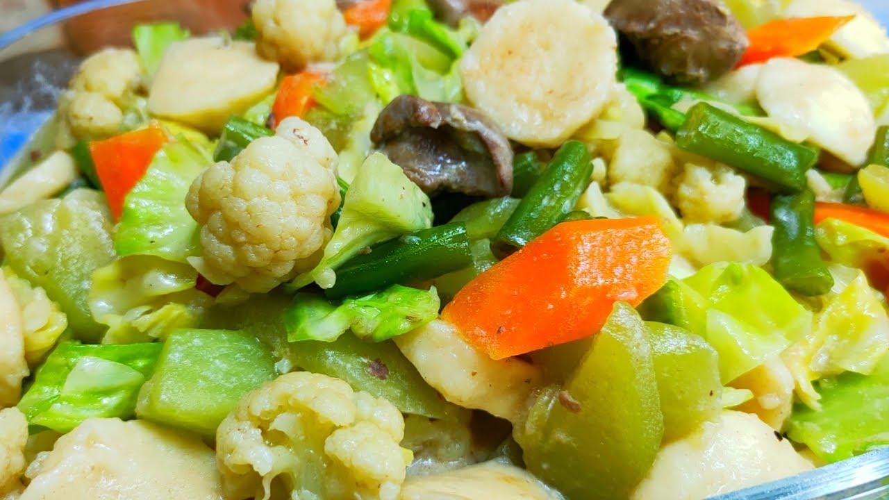 Recipes Main Dish How To Make Chop Suey With Tuna