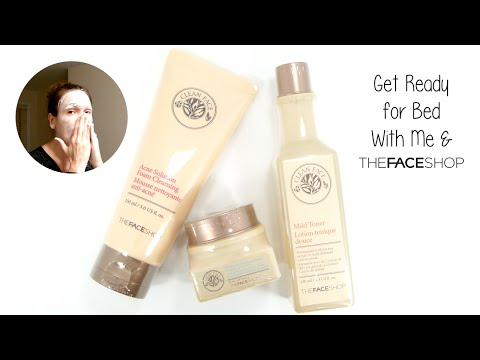 Get Ready for Bed With Me and THEFACESHOP