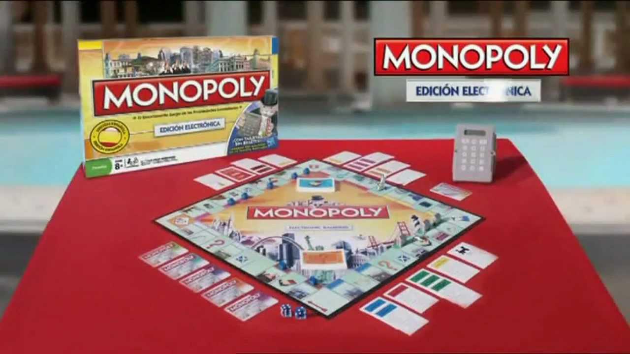 Monopoly Electronico Edicion Mundial Hasbro Anuncio Www Puppentoys