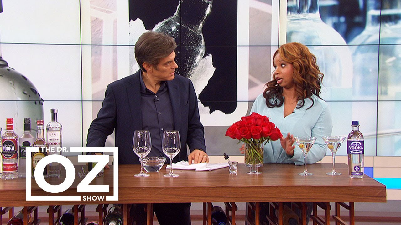 Dr Oz Learns How Vodka Can Ease Cold Sores